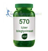 570 IJzer bisglycinaat 15mg aov gezondheidswebwinkel
