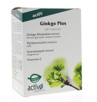 Activo Ginkgo Biloba Plus 60 tabletten
