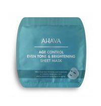 Ahava Age control even tone & brightening sheet mask 17 gram