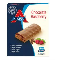 Atkins Day break chocolate raspberry 5x30 gram gezondheidswebwinkel
