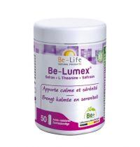 Be Life Be-lumex Saffraan + L-theanine bio 50 softgels gezondheidswebwinkel.nl