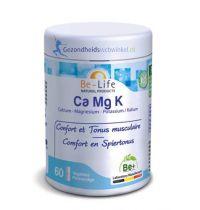 Be Life Ca Mg K Calcium - Magnesium - Kalium 60 softgels gezondheidswebwinkel.nl.