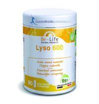 Be Life Lyso L-Lysine 600 90 softgels gezondheidswebwinkel.nl
