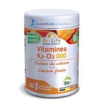 Be Life Vitamine K2-D3 800 30 softgels gezondheidswebwinkel.nl