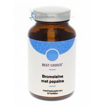 Best Choice Bromelaïne met papaïne 60 tabletten gezondheidswebwinkel.jpg