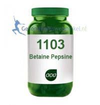 Betaine Pepsine 1103 aov gezondheidswebwinkel