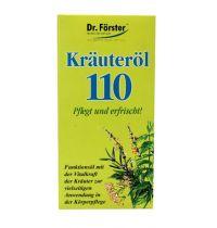DR Forster 110 Kruidenolie gezondheidswebwinkel