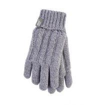 Heat Holders Dames Handschoenen S-M light grey