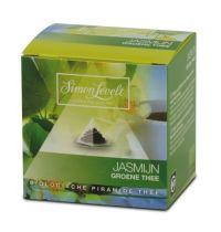 Levelt China Jasmijn bio piramidebuil 10 theezakjes gezondheidswebwinkel