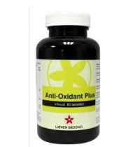Liever Gezond Anti oxydant plus 60 tabletten gezondheidswebwinkel
