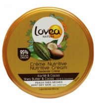 Lovea Body cream shea en cocoa 150 ml gezondheidswebwinkel