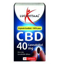 Lucovitaal CBD 40 mg 30 capsules gezondheidswebwinkel