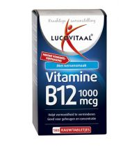 Lucovitaal Vitamine B12 1000 mcg 180 tabletten gezondheidswebwinkel