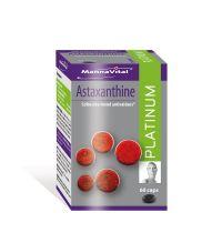 Mannavital Astaxanthine platinum 60 capsules gezondheidswebwinkel