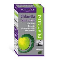 Mannavital Chlorella platinum 240 tabletten gezondheidswebwinkel