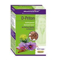 Mannavital D-priton 60 capsules gezondheidswebwinkel