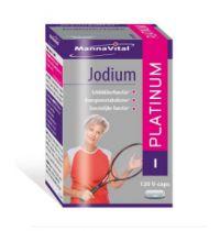 Mannavital Jodium platinum 120 capsules gezondheidswebwinkel