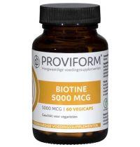 Proviform Biotine 5000 mcg gezondheidswebwinkel