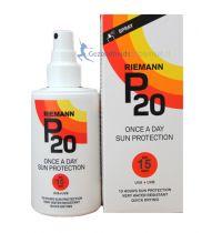 P20 zonnebrand factor 15 spray 200 ml