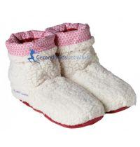 Slippies Boots Sherpa Beige gezondheidswebwinkel