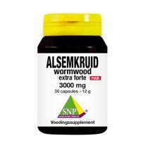 SNP Alsemkruid wormwood 3000 mg puur 30 capsules gezondheidswebwinkel