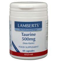Lamberts Taurine 500 mg. 60 capsules