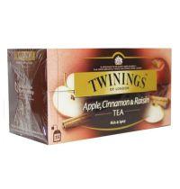 Twinings Apple cinnamon raisin aroma 25 theezakjes gezondheidswebwinkel