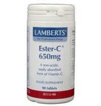 Lamberts Vitamin Ester C 650 mg. 90 stuk