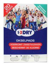 1-2DRY okselpads Medium Wit 20 stuks Gezondheidswebwinkel.jpg