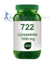 722 Lijnzaadolie 1000 mg aov gezondheidswebwinkel