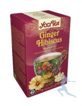 Yogi Tea Ginger Hibiscus 17 builtjes