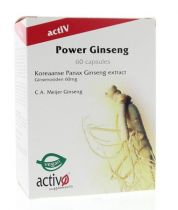 Activo Power Ginseng 60 capsules