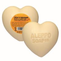 Aleppo Soap Hartzeep sinaasappelbloesem 200 gram