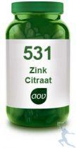 AOV 531 Zink Citraat gezondheidswebwinkel