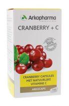 Arkocaps Cranberry en Vitamine C 150 Capsules gezondheidswebwinkel