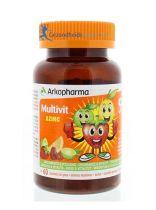 Arkopharma Azinc multi vitamine fruitgum 60 stuks gezondheidswebwinkel.nl