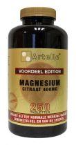 Artelle Magnesium citraat 400 gezondheidswebwinkel