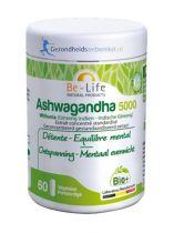 Be Life Ashwagandha 5000 bio 60 softgels gezondheidswebwinkel.nl