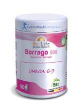 Be Life Borrago 500 bio 140 capsules gezondheidswebwinkel.nl