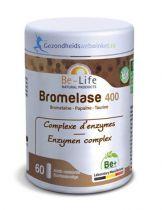 Be Life Bromelase 400 60 softgels gezondheidswebwinkel.nl