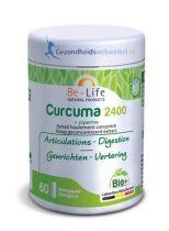 Be Life Curcuma 2400 + piperine bio 60 softgels gezondheidswebwinkel.nl