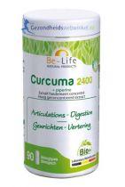 Be Life Curcuma 2400 + piperine bio 90 softgels gezondheidswebwinkel.nl
