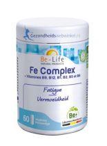 Be Life Fe IJzer complex bio 60 softgels gezondheidswebwinkel.nl