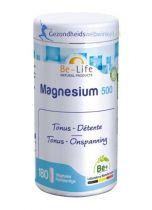 Be Life Magnesium 500 180 softgels Mineralenpreparaat gezondheidswebwinkel.nl