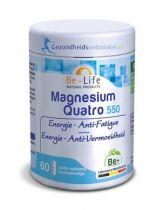 Be Life Magnesium quatro 550 60 softgels gezondheidswebwinkel.nl