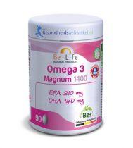 Be Life Omega 3 magnum 1400 90 capsules gezondheidswebwinkel.nl