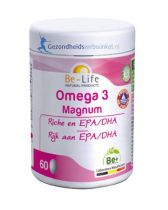 Be Life Omega 3 magnum 60 capsules gezondheidswebwinkel.nl