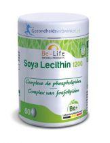Be Life Soya lecithine 1200 60 capsules gezondheidswebwinkel.nl