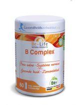 Be Life Vitamine B complex bio 60 softgels gezondheidswebwinkel.nl