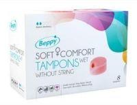 Beppy Soft+ comfort tampons wet 8 stuks
